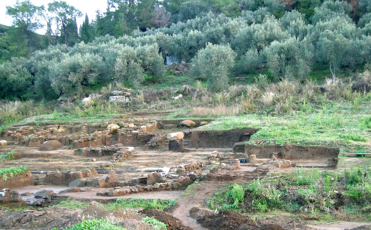 Farmstead complex (photo: Ephorate of Antiquities of Arta).