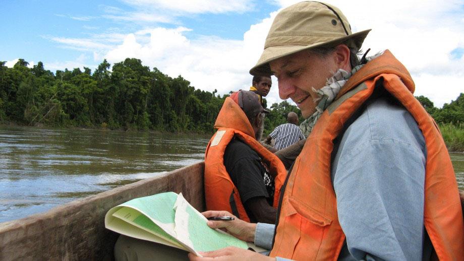 Dr Tim Denham in Papua New Guinea. Photo Credit: Tim Denham / ANU.