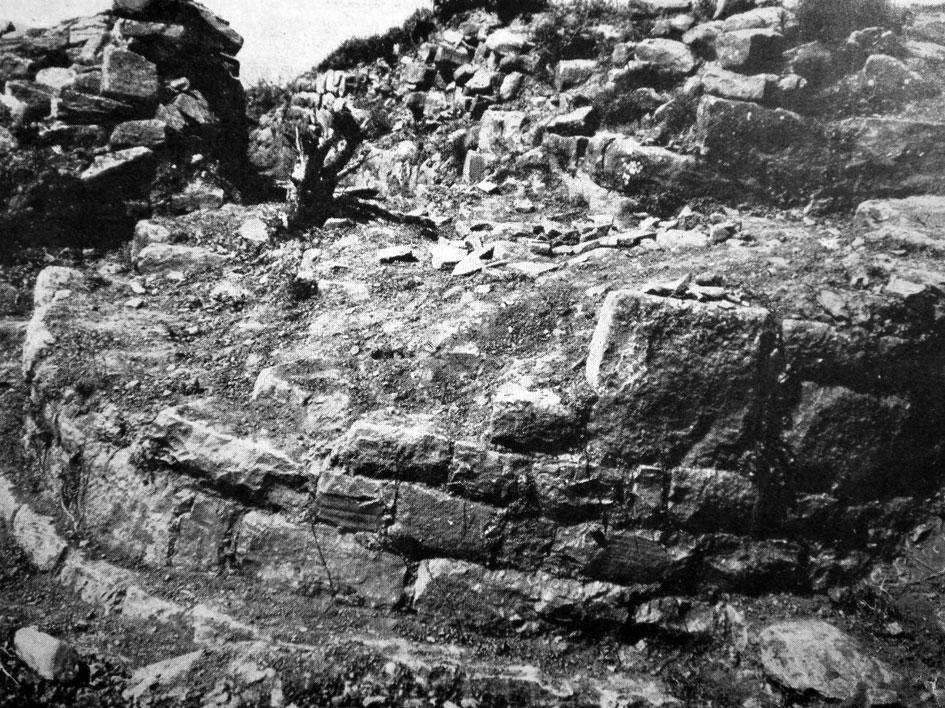 Fig. 11. Arkades, Prophet Elias; Hellenistic circular fortification tower.