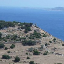 Five volunteers for the Southeast Naxos Survey 2015