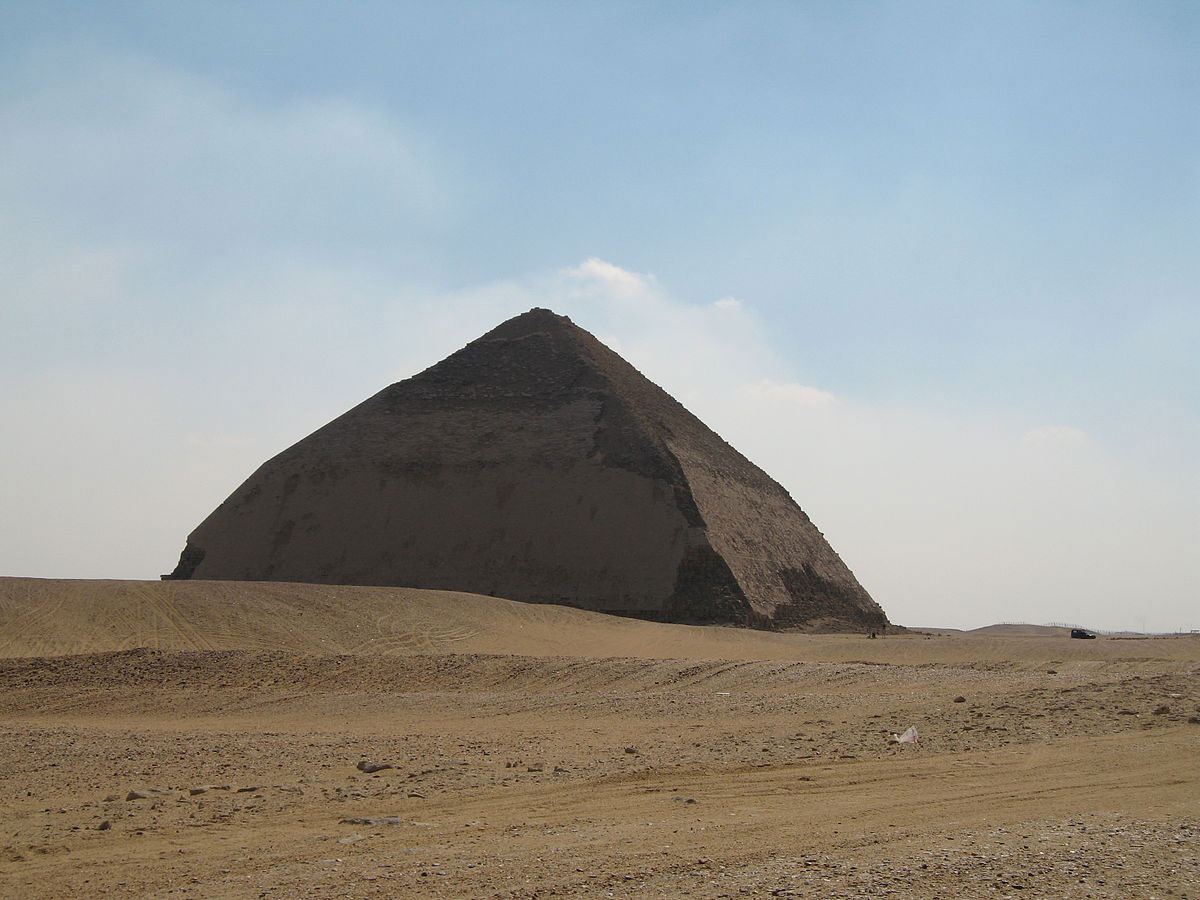 King Senefru's Bent Pyramid in Dahshur will be the first to be studied by the Scan Project. Photo Credit: Licensed under CC BY 2.0 via Commons.