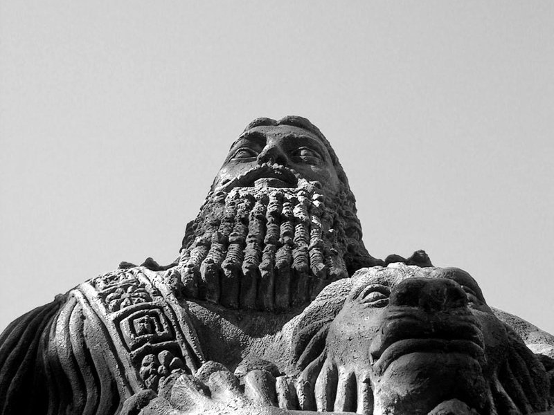 Gilgamesh statue at Sydney University (Samantha/Flickr/Creative Commons).