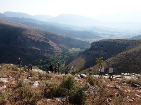 Archaeological surface survey  in Middle Kalamas of Thesprotia.