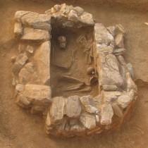 Mytilene: Stone-built cist grave revealed