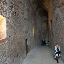 Hidden imperial passageway open to the public in Rome