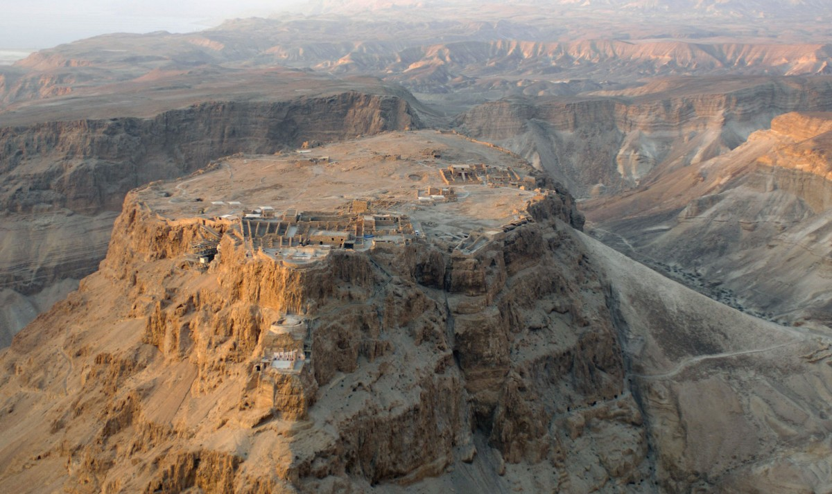 Masada Fortress, Israel.