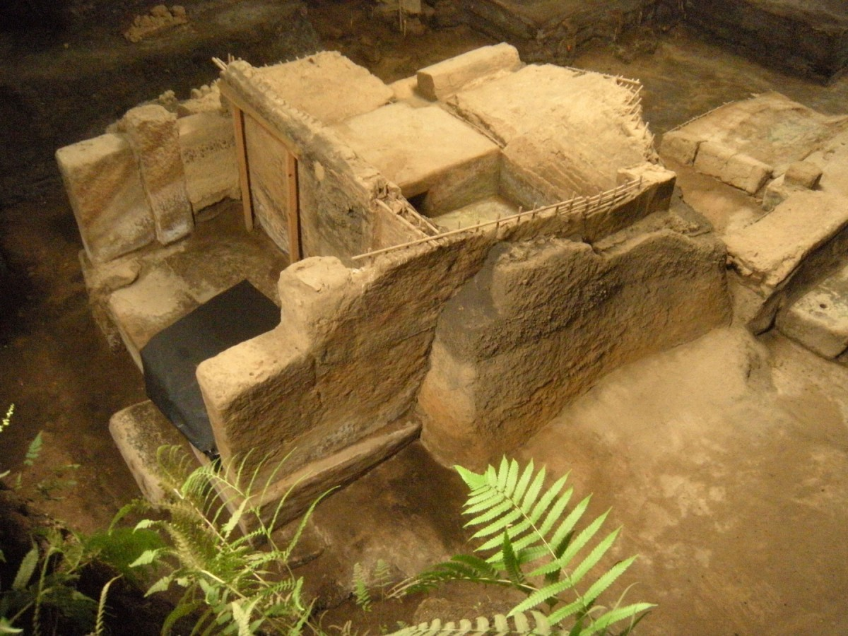 Structures at Cerén were buried in up to 17 feet of ash over a period of several days, freezing the 1,400-year-old village in time. Credit: University of Colorado