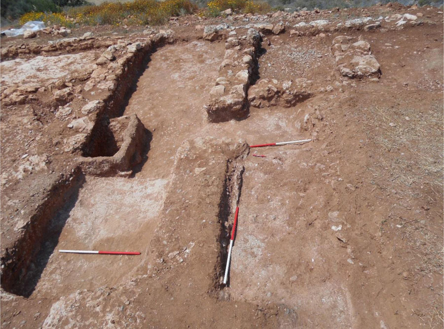 Sector 4: Part of the excavation (Photo: A. Kanta).