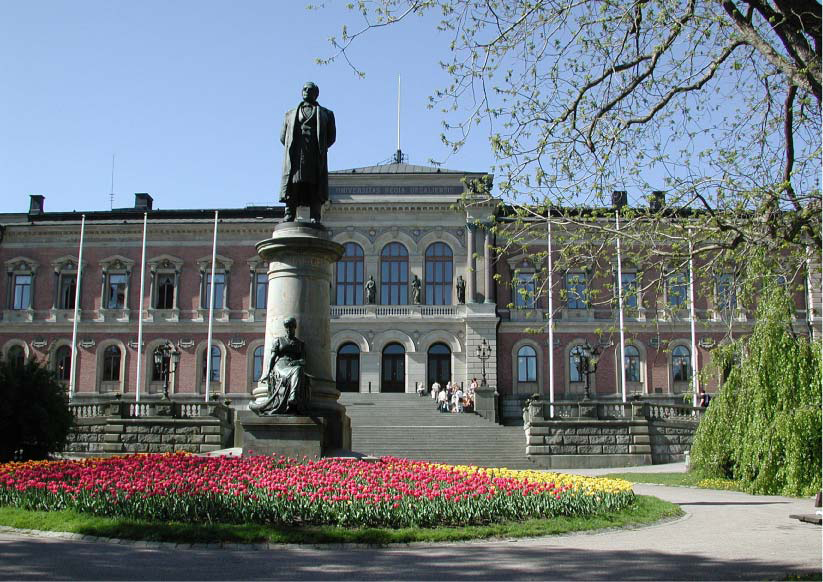 Uppsala University, main building.