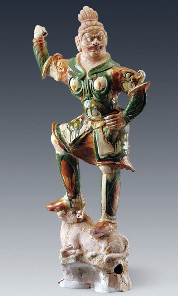 A figure of a deity known as a