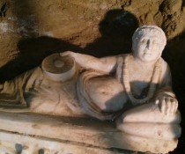 Almost intact Etruscan tomb found in Italy