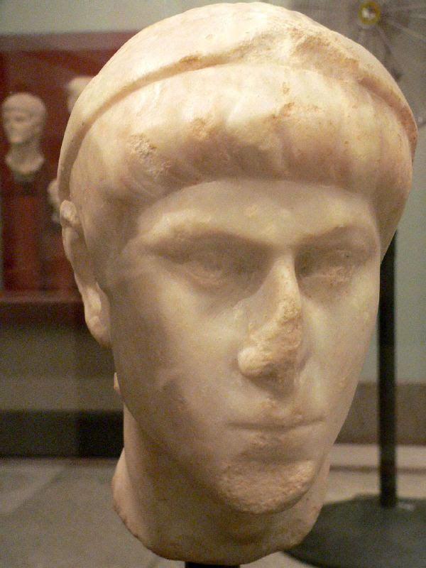 Fig. 1. Bust of emperor Constantius II.