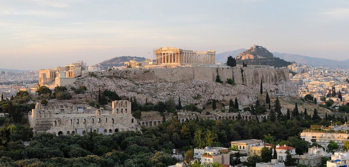 The Acropolis, Athens. Photo Credit: Christophe Meneboeuf / Wikimedia Commons.