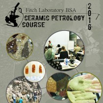 Fitch Laboratory: Ceramic Petrology course