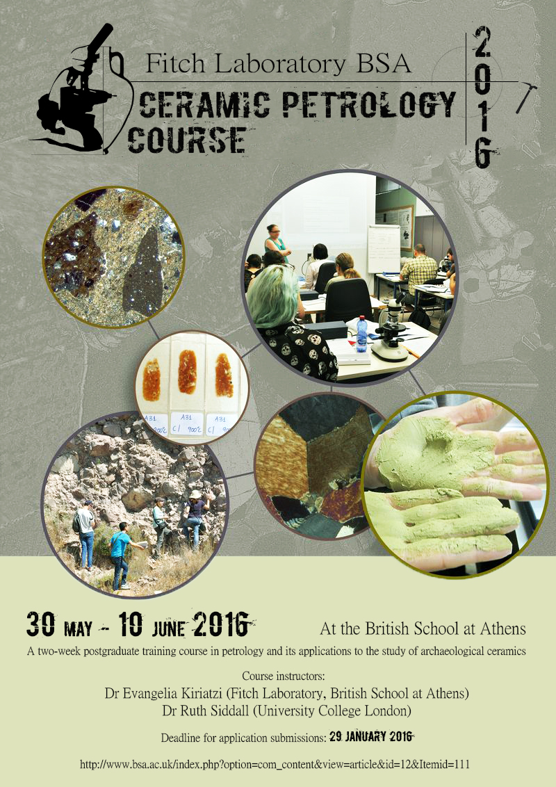Poster of the course.
