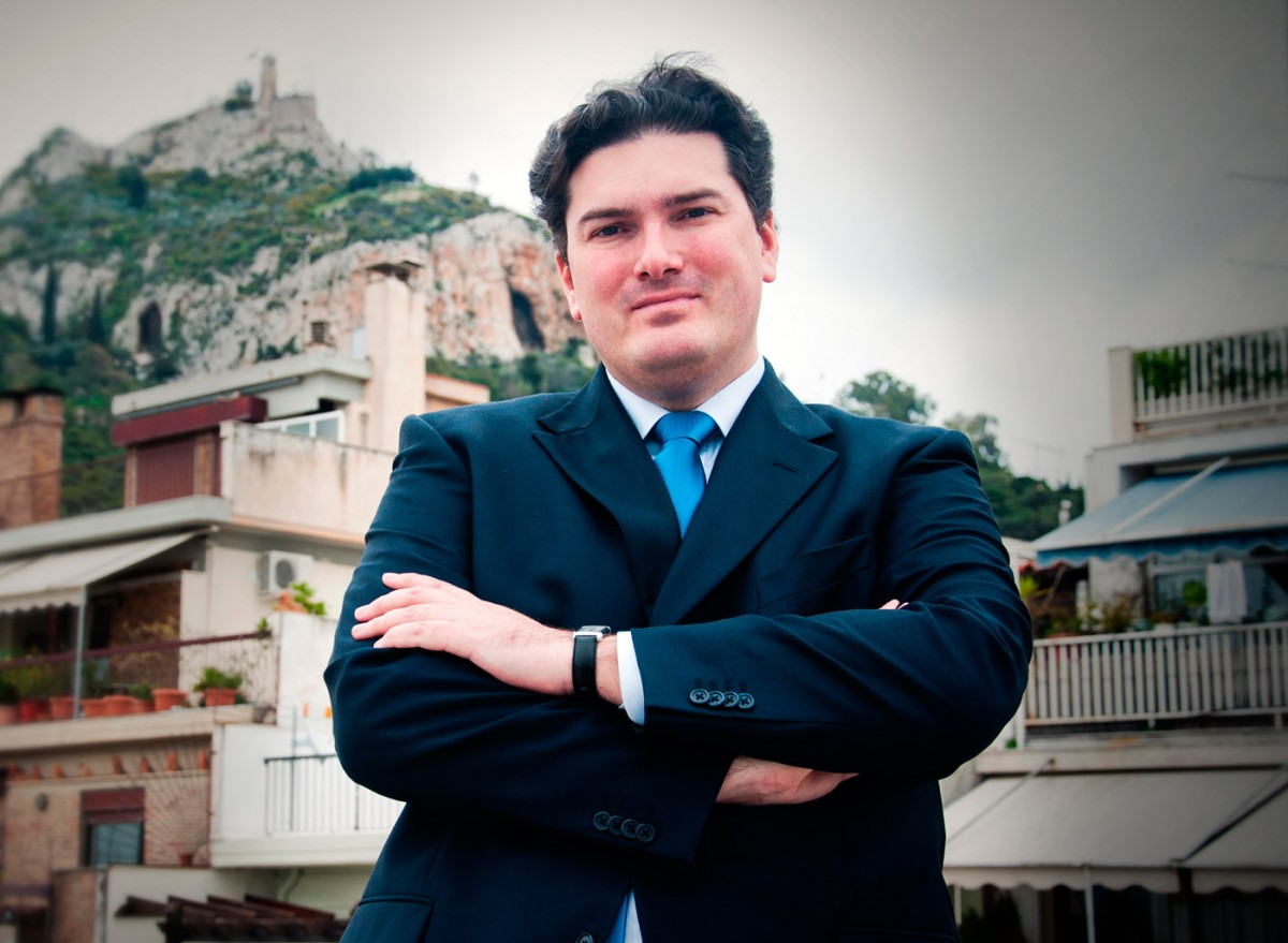 Olivier Descotes is the new Director of the Benaki Museum in Athens.