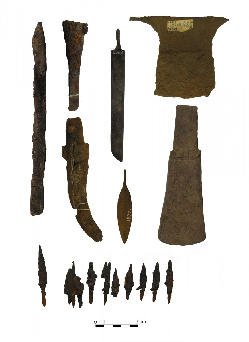 Fig. 3. Examples of Meroitic iron weapons.