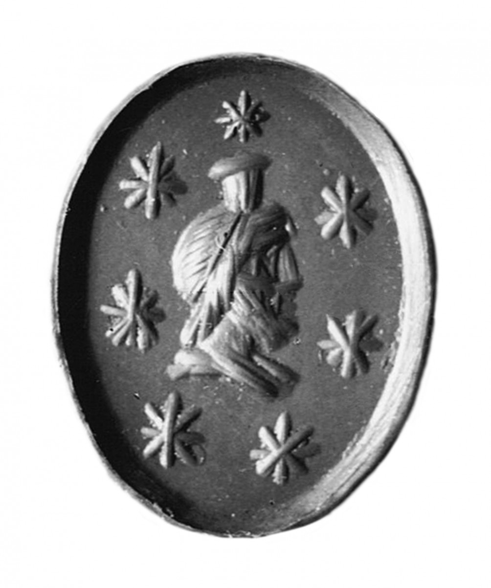 Fig. 6. Sarapis seal impression from Sedeinga (V. Francigny).