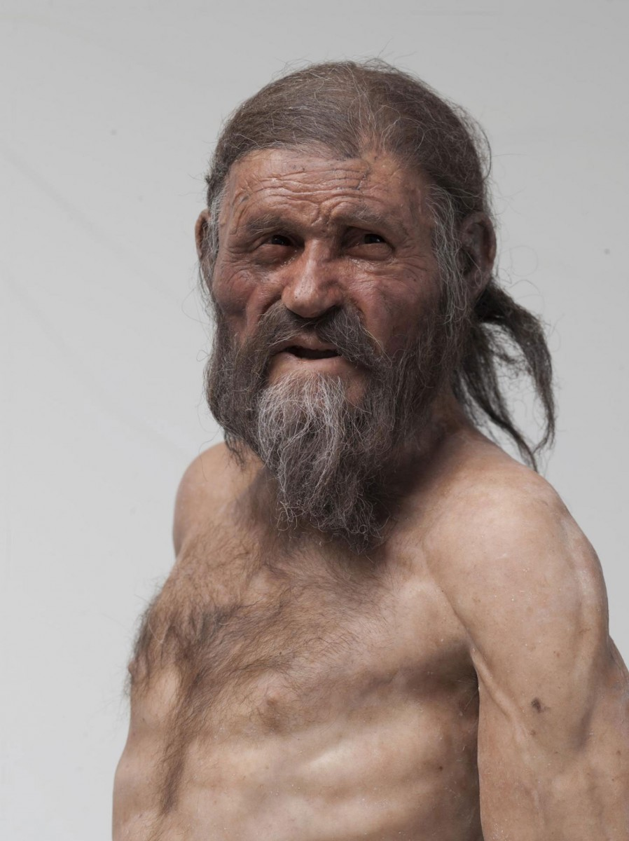 The Iceman (reconstruction by Adrie and Alfons Kennis). Credit: Reconstruction by Kennis © South Tyrol Museum of Archaeology, Foto Ochsenreiter