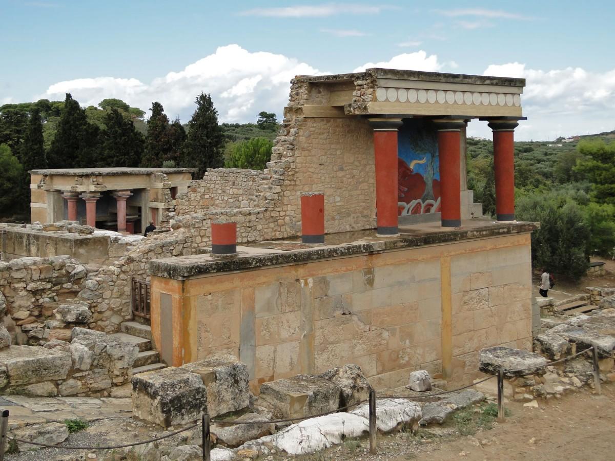 Knossos, North Portico.