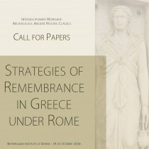 Strategies of Remembrance in Greece under Rome