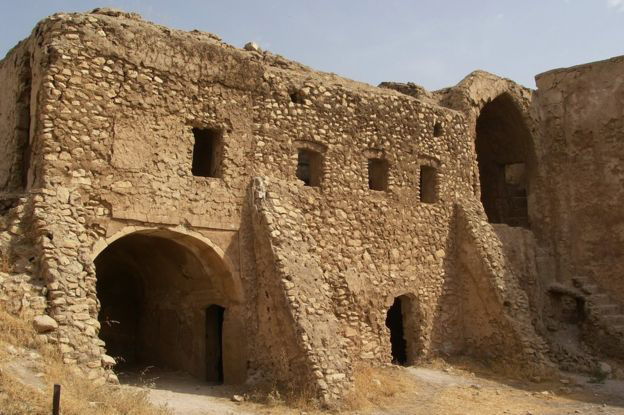 St Elijah's Monastery, or Deir Mar Elia, was believed to have been built in the late 6th century.