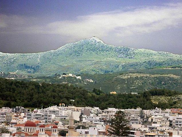 The Peak Sanctuary of Vrysinas.