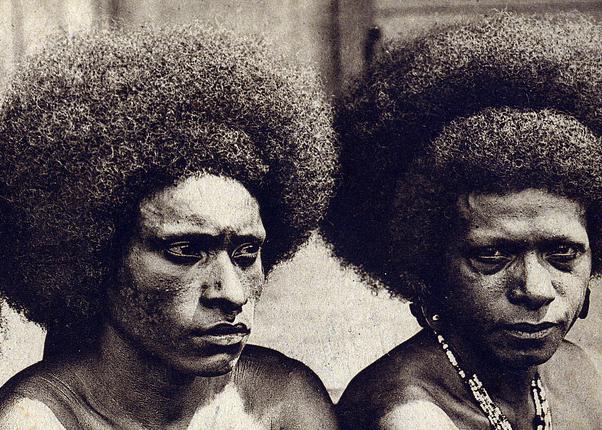 Men of Papua, New Guinea.