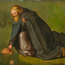 500-year-old painting is attributed to Hieronymus Bosch