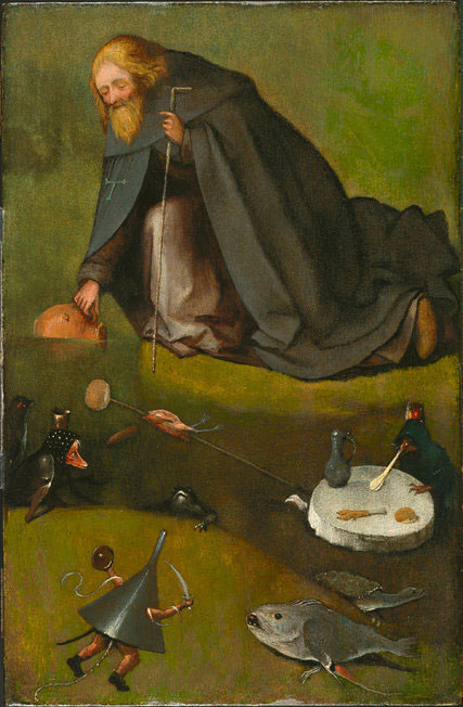 The Temptation of St. Anthony, dated 1500-1510, is by the Dutch Renaissance master Hieronymus Bosch, experts from the Bosch Research and Conservation Project said on Monday. Image Credit: The Bosch research and Conservation Project/New York Times.