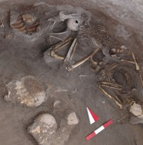 Iron Age burial in Turkey with turtles discovered