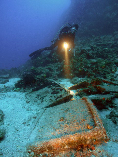 Part of the project's aim has been to provide a record of shipwrecks in Turkey's territorial waters. Photo Credit: Daily Sabah.