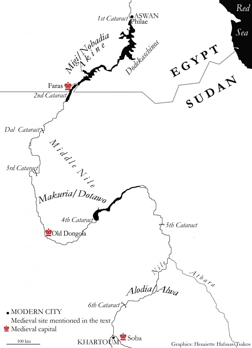 Fig. 2. Sudan map (Henriette Hafsaas-Tsakos).