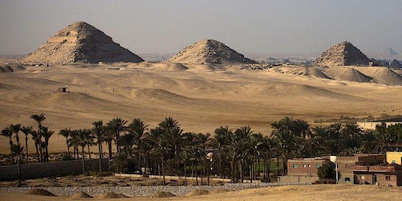 The Saqqarah necropolis. Photo Credit: Ahram Online.