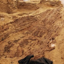 Old Kingdom large boat found in tomb in Abusir