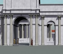 Monumental Roman arcade found in Britain