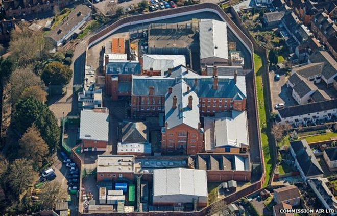 The prison was built in 1885 and designed by prominent prison architect William Blackbur. Photo Credit: Commission Air LTD/BBC.