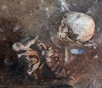Vertical burial found in Germany