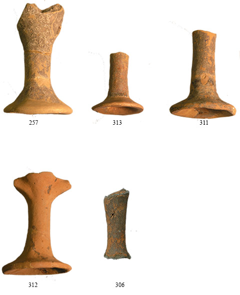 Fig. 15. Samples of log stemmed cups/kylikes from Krya. (source: author's archive)