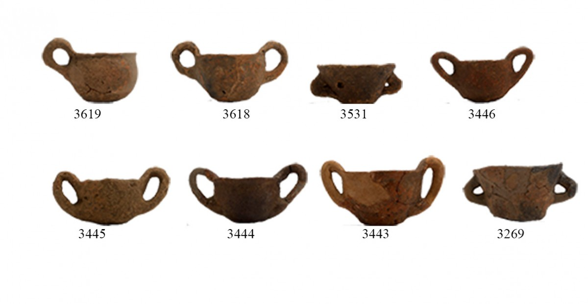 Fig. 16. Miscellany of pottery vessels from area in Dodoni. (source: author's archive)