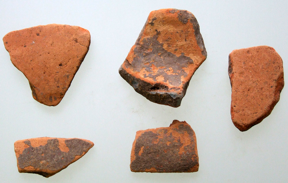 Fig. 5. Samples of orange red pottery from Krya. (source: author's archive)