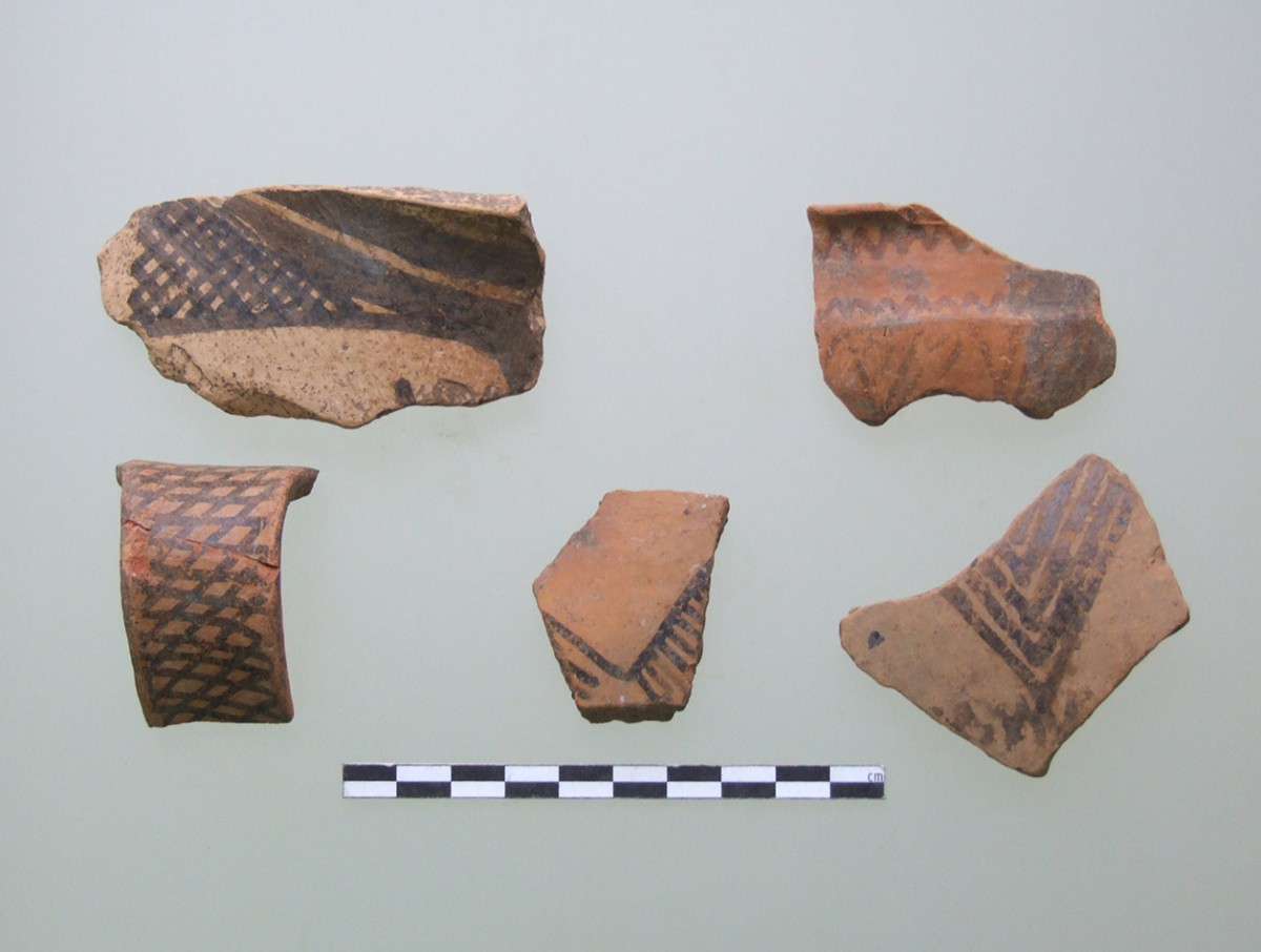 Fig. 6. Samples of matt coloured I from Krya. (source: author's archive)