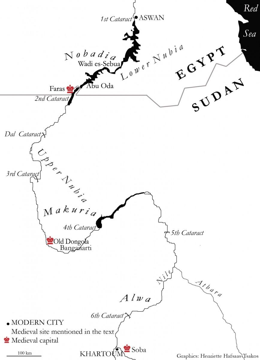 Fig. 12. Sudan map (Henriette Hafsaas-Tsakos).
