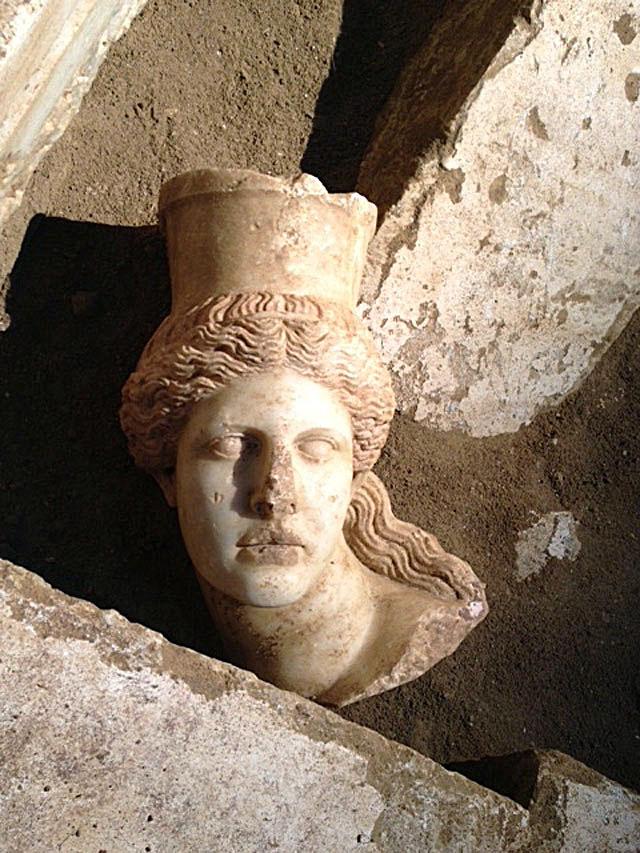 Sphinx's head from Amphipolis.