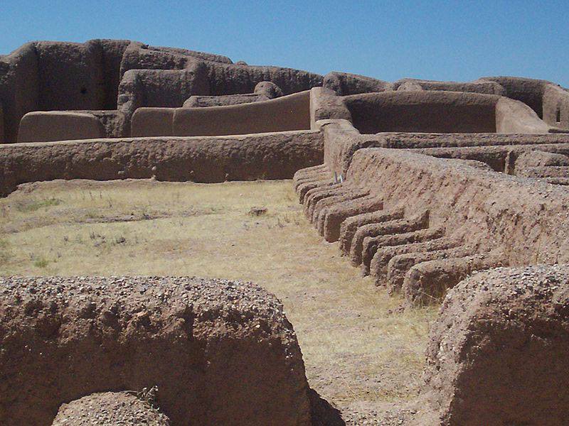 At its peak in the 14th century, Casas Grandes was home to as many as 3,000 people. Photo Credit: Creative Commons.