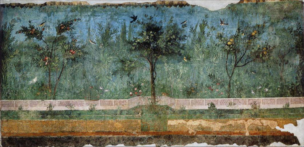 Fig. 17. Painted garden, Villa of Livia ad gallinas albas, Rome (photo of the author).