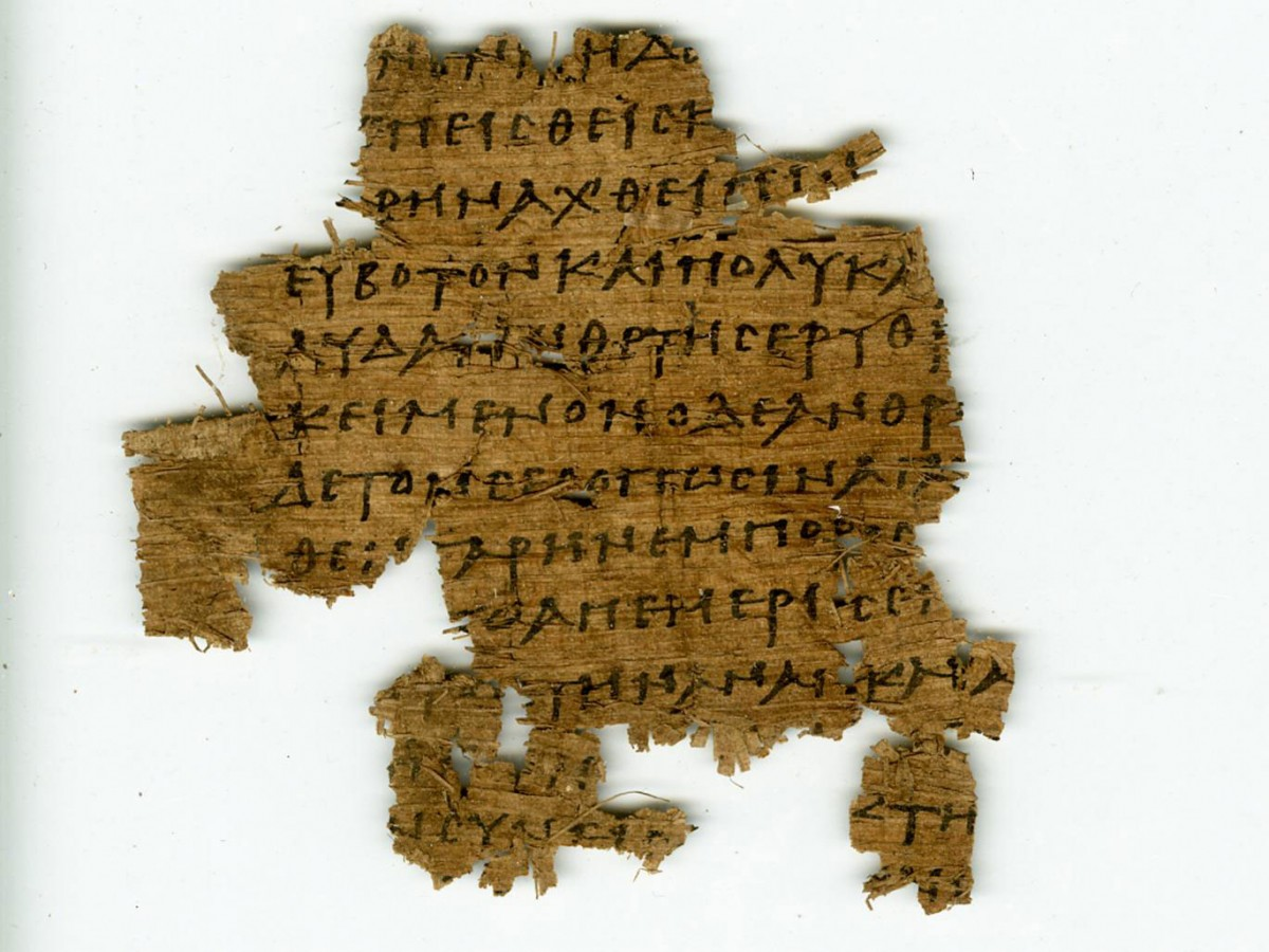 Half a million papyrus fragments were found. Photo Credit: The Egypt Exploration Society/The Independent.