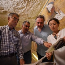 Two chambers are hidden behind Tutankhamun's tomb wall