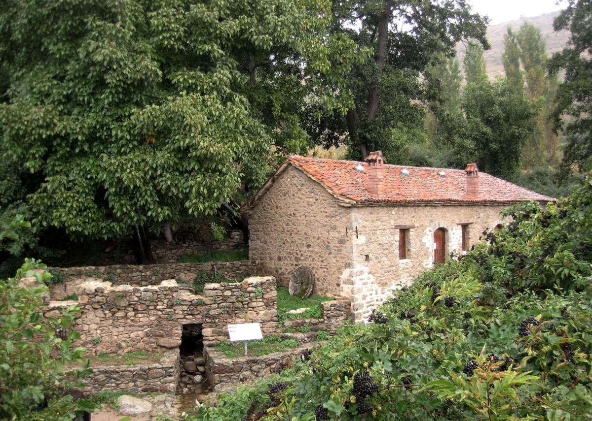Traditional Watermill in Agios Germanos, Prespes, Greece.