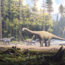 Study shows dinosaur families chose to exit Europe